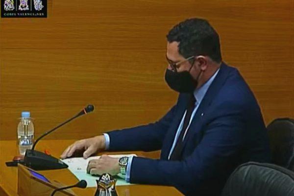 Unió Gremial interviene en les Corts Valencianes en la Comisión Especial de estudio sobre los usos de tiempos para impulsar políticas concretas de racionalización de los horarios