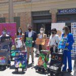 La Asociación de Comerciantes de los Mercados Municipales de Alicante presenta la campaña Comercio Brutal junto con su nueva imagen